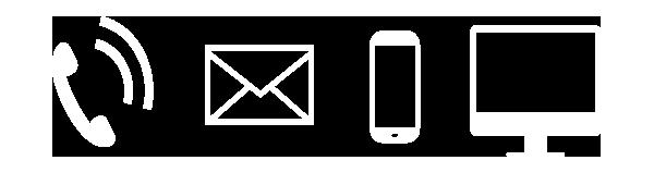 Symbole digitale Kommunikation